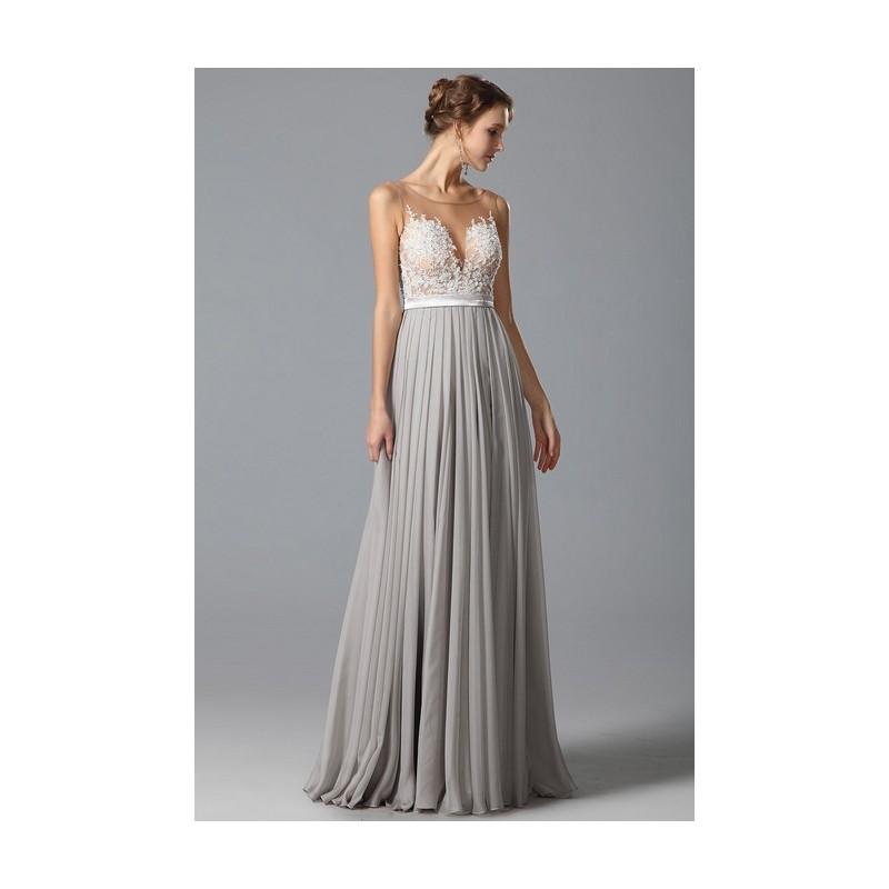 Překrásné sexy společenské šedé šaty s průsvitným krajkou zdobeným živůtkem  ... 39bba9b979
