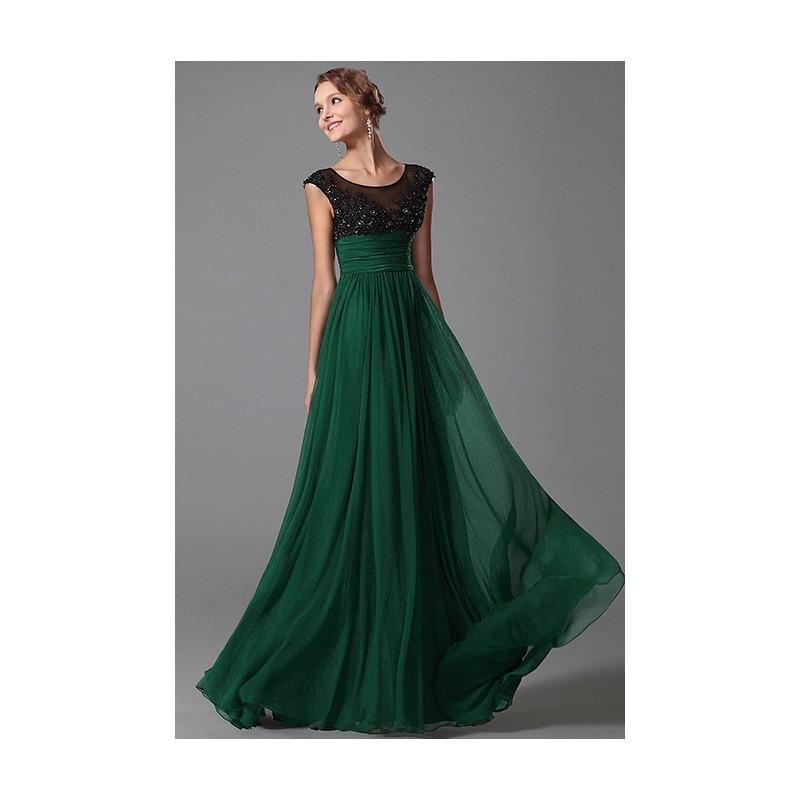 Nové přitažlivé krásné tmavě zelené společenské šaty s černým krajkovým  topem a10a1bfaa03