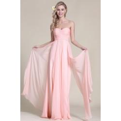Nové krásné a půvabné světlounce růžové šaty