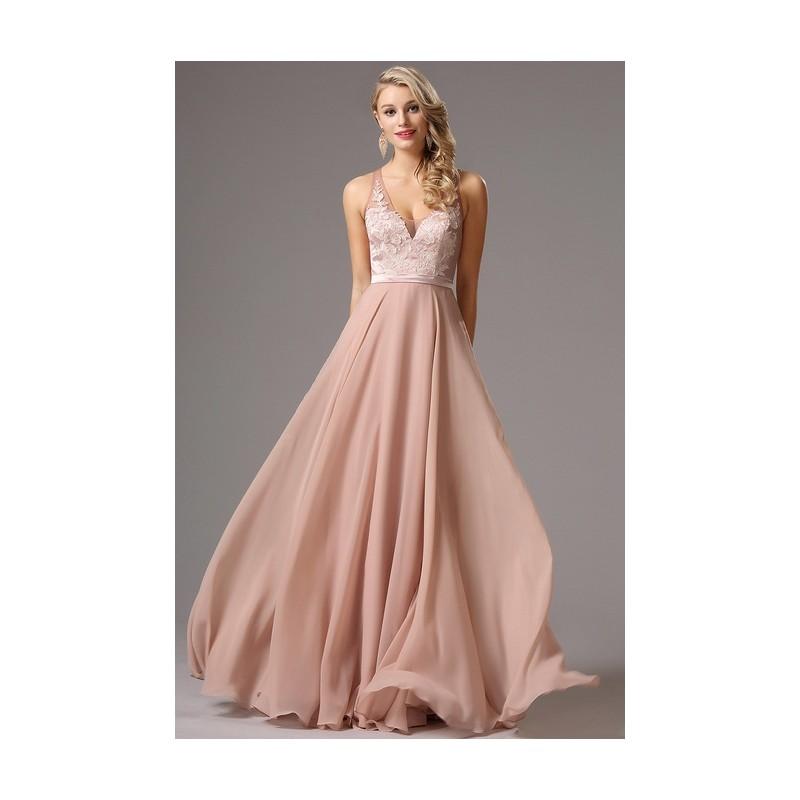 Společenské elegantní světle růžové dlouhé šaty bez rukávů s ručně zdobeným  živůtkem ... c30aae1cd5