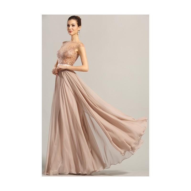 e78662db6367 Nové překrásné pudrově růžové společenské šaty s luxusně průsvitným  zdobeným živůtkem ...
