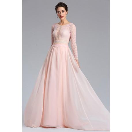 0e9857903217 Půvabné nové moc kásné krajkové světle růžové šaty s krajkovým vrškem